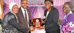 ASSOCIATION OF PROFESSIONAL WOMEN ENGINEERS OF NIGERIA (APWEN) HONOURS UNIOSUN ACTING VC
